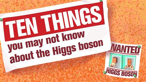 10 things you may not know about adding color to your ten things you may not know about the higgs boson
