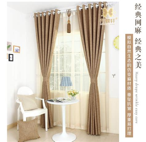 thermal bedroom curtains full blackout curtain fabrics bedroom linen ready made