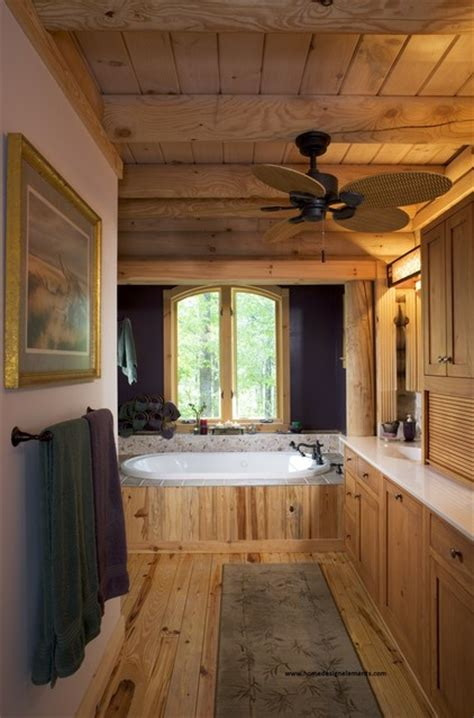 home design elements llc log home lavely traditional bathroom other metro