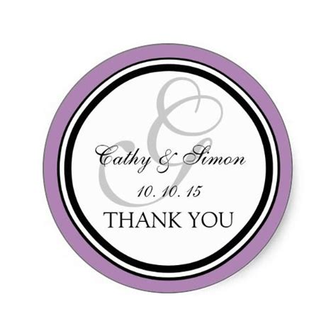 thank you sticker template 20 best wedding thank you stickers images on