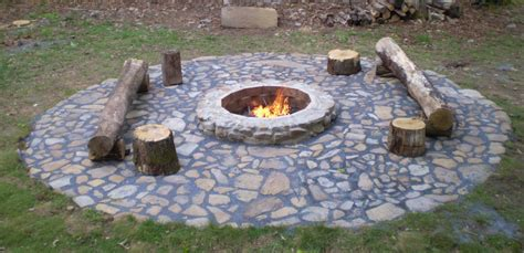 Backyard With Firepit Gas Pit Ideas For Comfortable Backyard Sitting Area Home Furniture