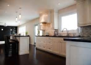 White Kitchen Cabinets With Black Granite Countertops White Kitchen Cabinets Countertops And Dark Granite