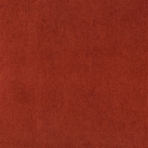 cotton velvet upholstery fabric rust red plush elegant cotton velvet upholstery fabric by