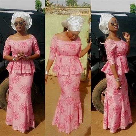 latest cord lace and styles 9 amazing nigerian traditional skirt and blouse styles
