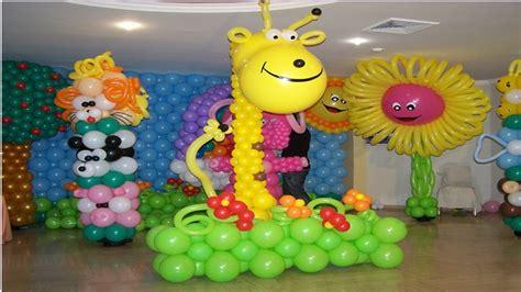 decoracion en globos decoraci 211 n en globos para fiestas infantiles imagens