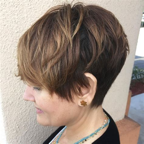 short hairstylescuts for fine hair with back and front view 90 mind blowing short hairstyles for fine hair