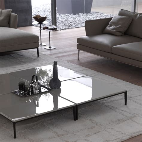 Low Living Room Table Low Coffee Table For Living Room Poggio Square Coffee Table By Alivar Design Giuseppe Bavuso
