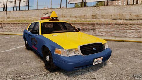 Auto Ohne B Säule by Ford Crown 1999 Gta V Taxi F 252 R Gta 4