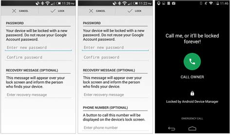 what is android device manager android device manager si aggiorna e lascia impostare un numero a cui essere richiamati
