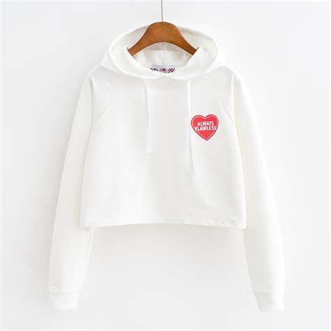 Crop Sweater Hoodie by Sweater Sweatshirt Hoodie Flawless Flawless Crop