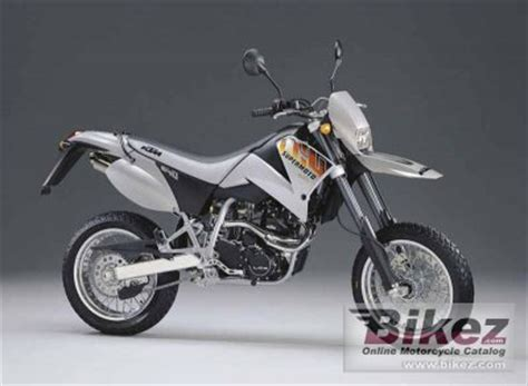 2001 Ktm 640 Supermoto 2001 Ktm Lc4 E 640 Supermoto Specifications And Pictures