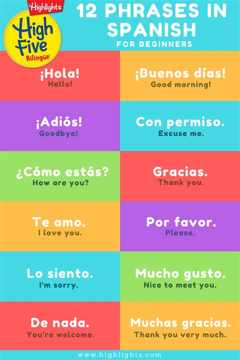 spanish made easy language 1409349381 magazine in spanish for kids highlights high five biling 252 e spanish phrases cinco de mayo