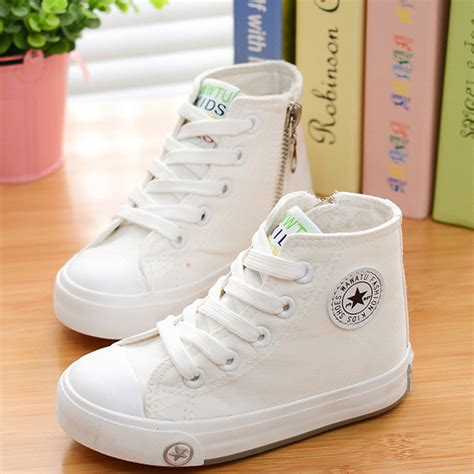 fashion sneakers for 2016 children shoes for baby boys white