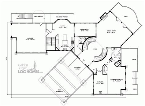 mount vernon floor plan golden eagle log and timber homes floor plan details