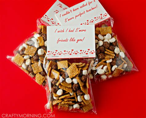 More Valentines Gift Ideas by S Mores S Day Gift Idea Free Printables