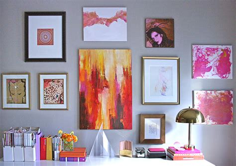 gallery wall art office gallery wall a few of my favorite things erika