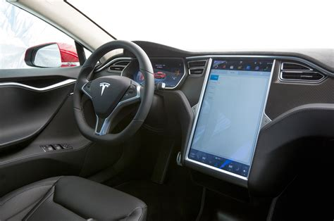 Tesla S Model Interior by 2015 Tesla Model S P90d W Ludicrous Upgrade Test