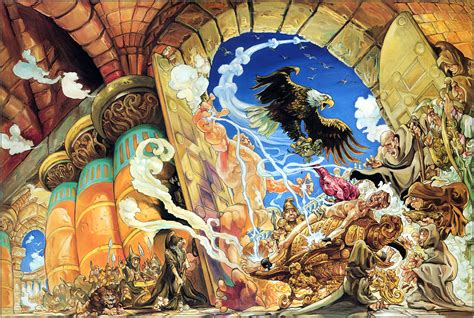 dioses menores small 8401329108 your favourite josh kirby discworld cover the result the art of discworld