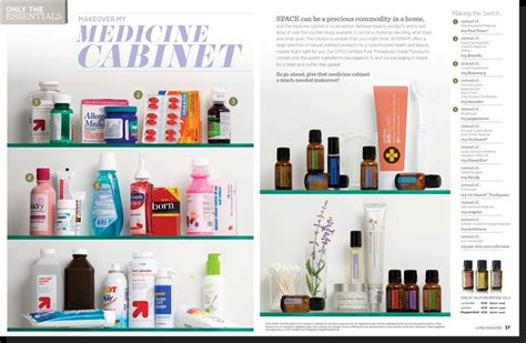 What To In Your Medicine Cabinet Makeover Your Medicine Cabinet With Essential Oils Hygea