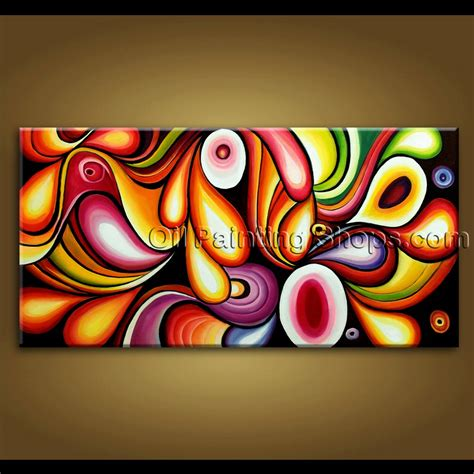 unique paint large wall original modern abstract painting on canvas unique