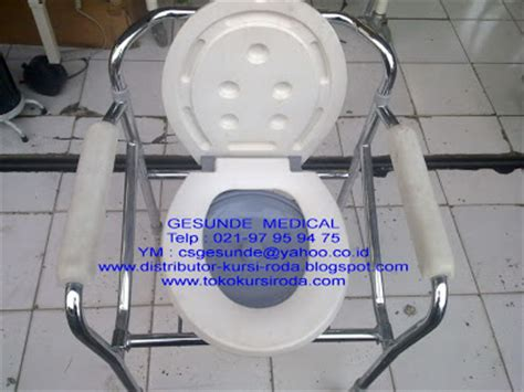 Kursi Roda Second jual kursi toilet bekas commode chair second toko