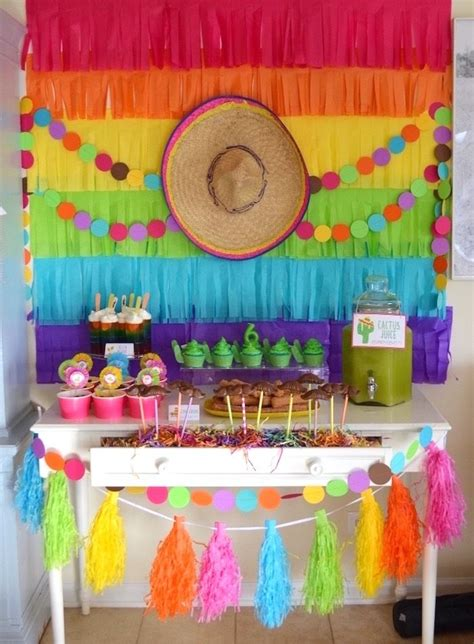 Mexican Themed Decorations by Best 20 Decorations Ideas On