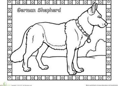 coloring pages of german shepherd puppies worksheets german shepherd coloring pagegerman shepherd