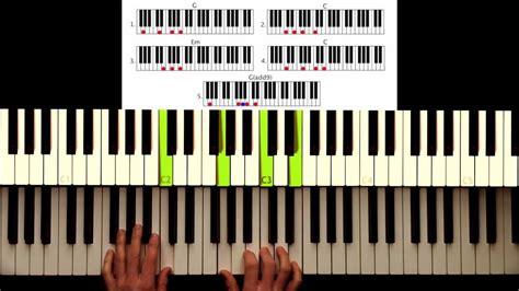 reason tutorial keyboard how to play pink give me a reason intro original
