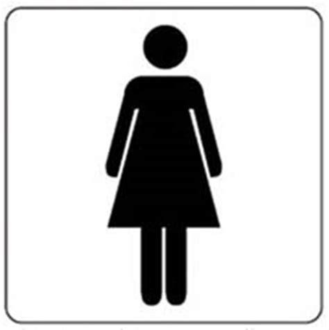 sticker dames heren toilet pictogram toilet dames multishape bv