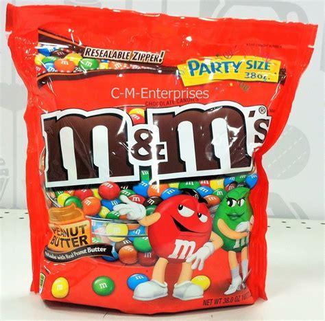 Qyu Up Buy 2 Get 1 Size M m m s peanut butter chocolate candies 38 oz big bag