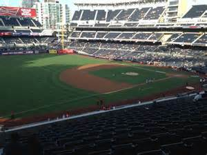 petco park section views petco park section 216 row 11 seat 1 san diego padres vs