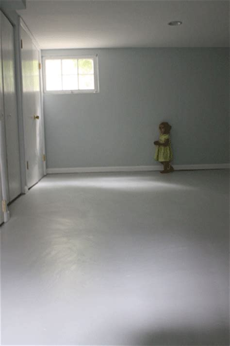 how to paint basement concrete floor painted concrete floors this look six different ways