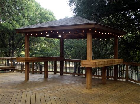 gazebo deck custom gazebos san antonio tx j r s custom decks