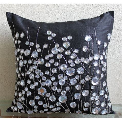 black throw pillows for sofa decorative throw pillow covers accent pillows couch sofa