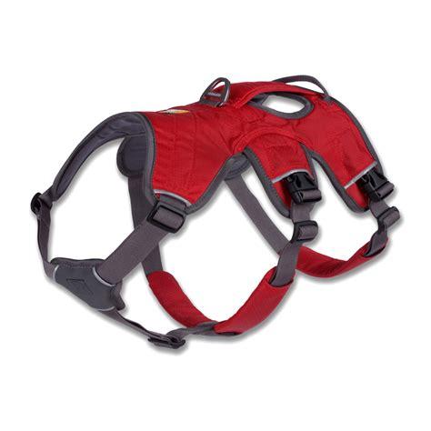 hiking harness ruffwear web master harness outdoor hiking gear reflective mult iuse new