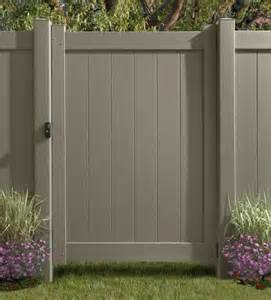 fence colors vinyl privacy fencing
