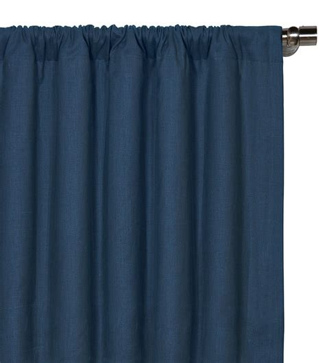indigo curtain panel luxury bedding by eastern accents breeze indigo curtain