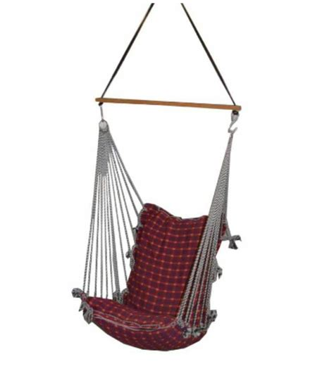 indoor swings for home india kkriya home decor outdoor n indoor swing in red buy