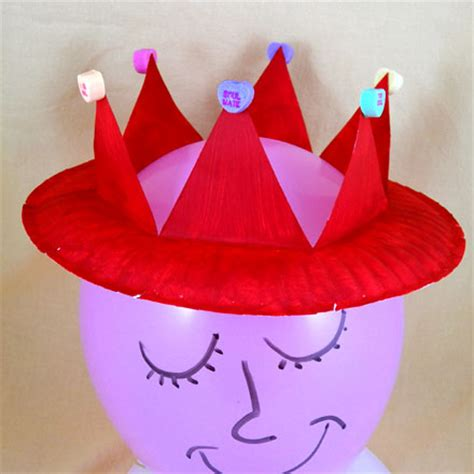 craft of crown how to make a valentine crown friday fun craft projects