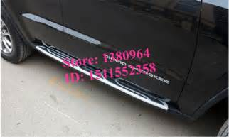 more fashionable aluminium running board side step nerf