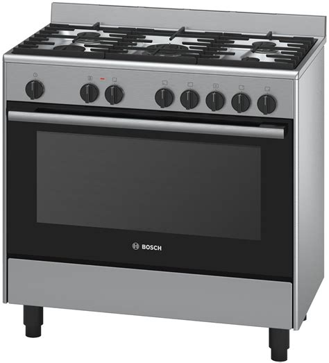Oven Gas Bosch new bosch hsb738354a freestanding dual fuel oven stove ebay