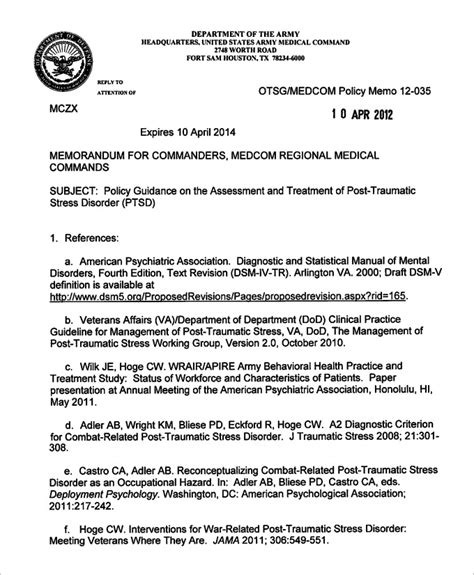 army memo for record template memorandum for record army fillable best template
