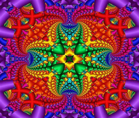 patterns in nature rainbow psychedelic rainbow fractal by kirstenstar on deviantart