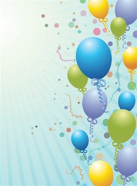 palloncini clipart ballons design hintergrund vector clipart me