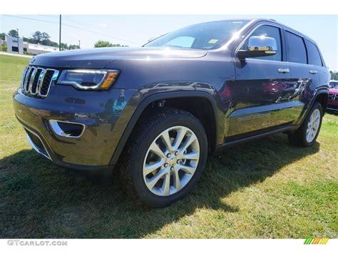 2017 jeep grand cherokee limited granite 2017 granite crystal metallic jeep grand cherokee limited