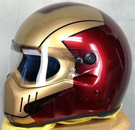 Motorrad Helm Iro by Motorcycle Helmet Iron Geeky Biker Helmet Biker