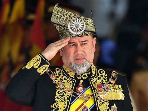 malaysian king   picked  month  shock