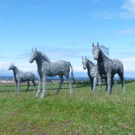 Bird Figures galleries displaying wire horses by laura antebi equine
