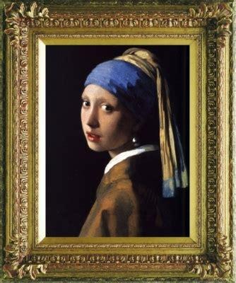 comprar cuadro la joven de la perla cuadros la joven de la perla