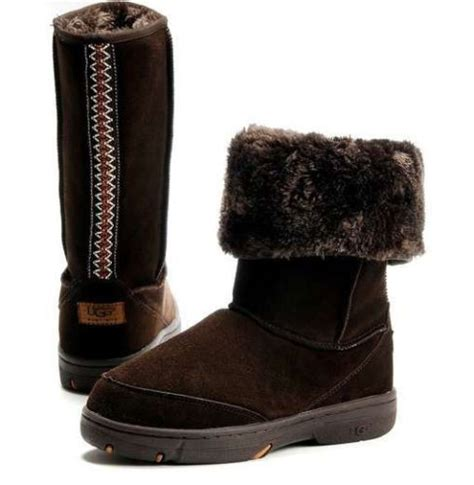 brown suede boots and ugg australia on
